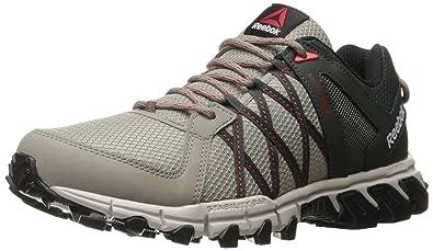 Reebok Men's Trailgrip RS 5.0 Running Shoe, Beach StoneDark SageSand Stone