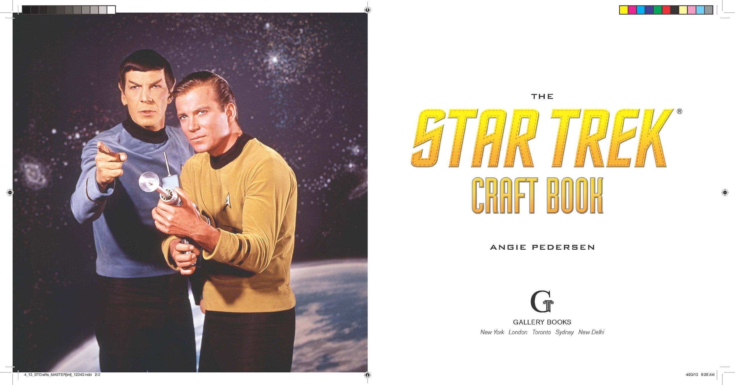 Craft Book: Make It So! (Star Trek): Amazon.de: Angie Pedersen ...