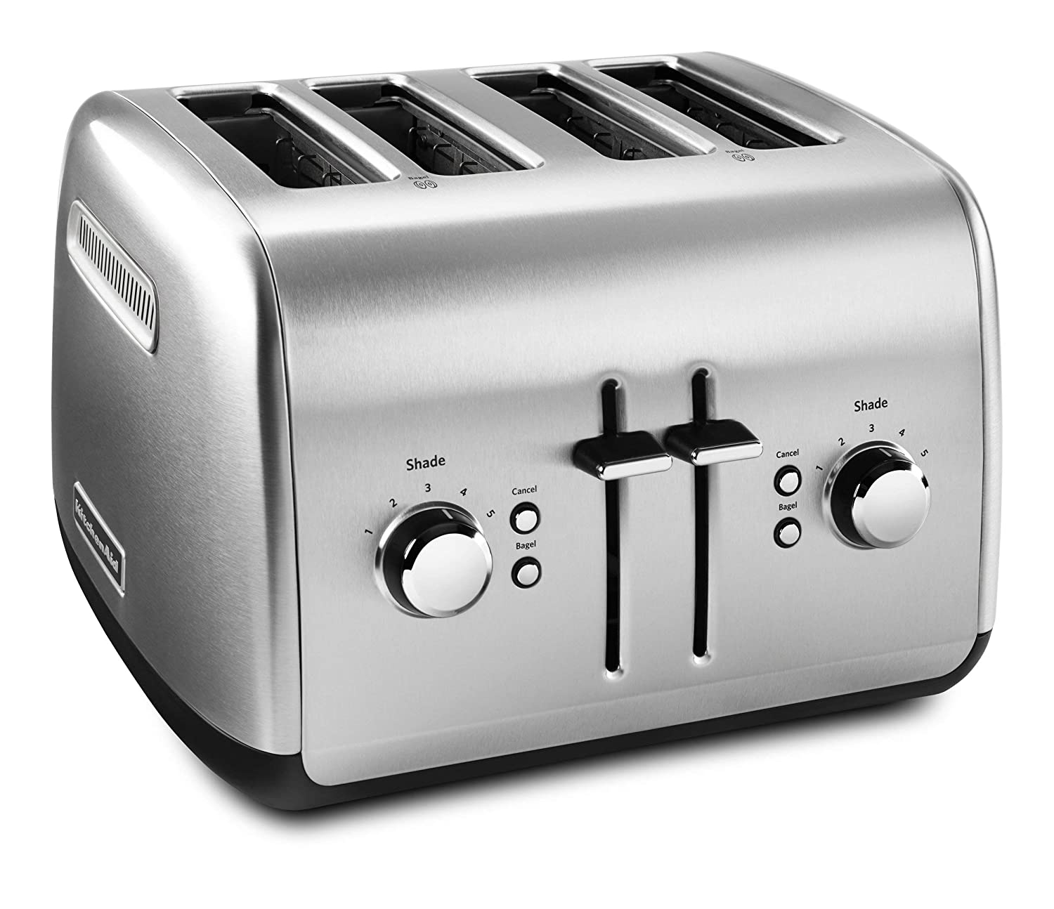 KitchenAid KMT4115SX Stainless Steel Toaster, Brushed Stainless Steel Renewed