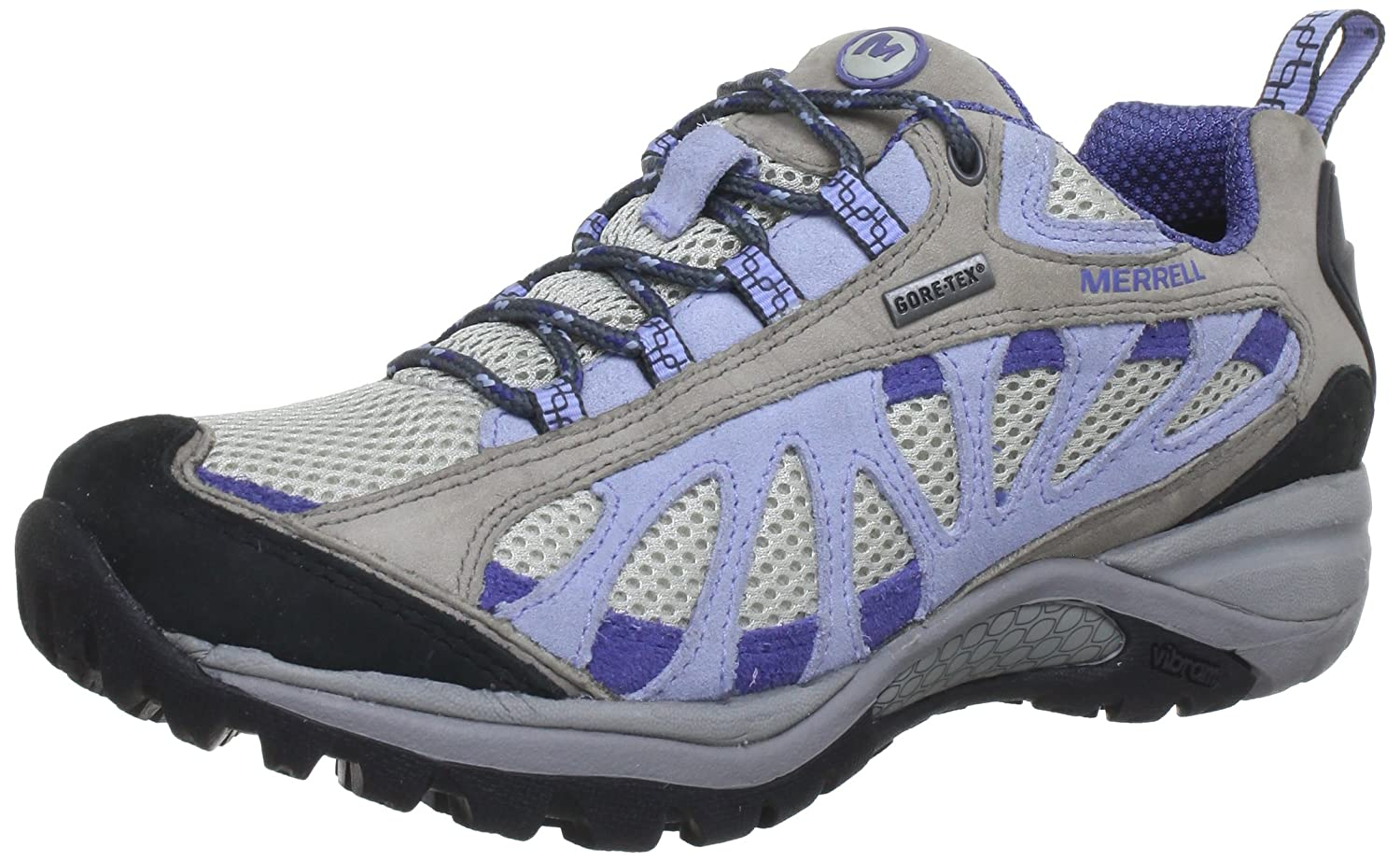 95f53d34b136 Merrell Womens SIREN VENT GTX 2 Trekking   Hiking Shoes multi-coloured  Mehrfarbig (DRIZZLE PERIWINKLE) Size  40  Amazon.co.uk  Shoes   Bags