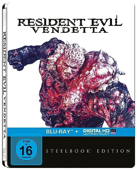 Resident Evil: Vendetta (Steelbook) [Blu-ray]