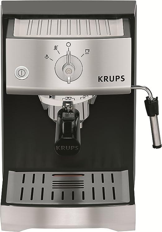 Krups XP5220 - Cafetera (Máquina espresso, 1,1 L, 1400 W, Negro ...