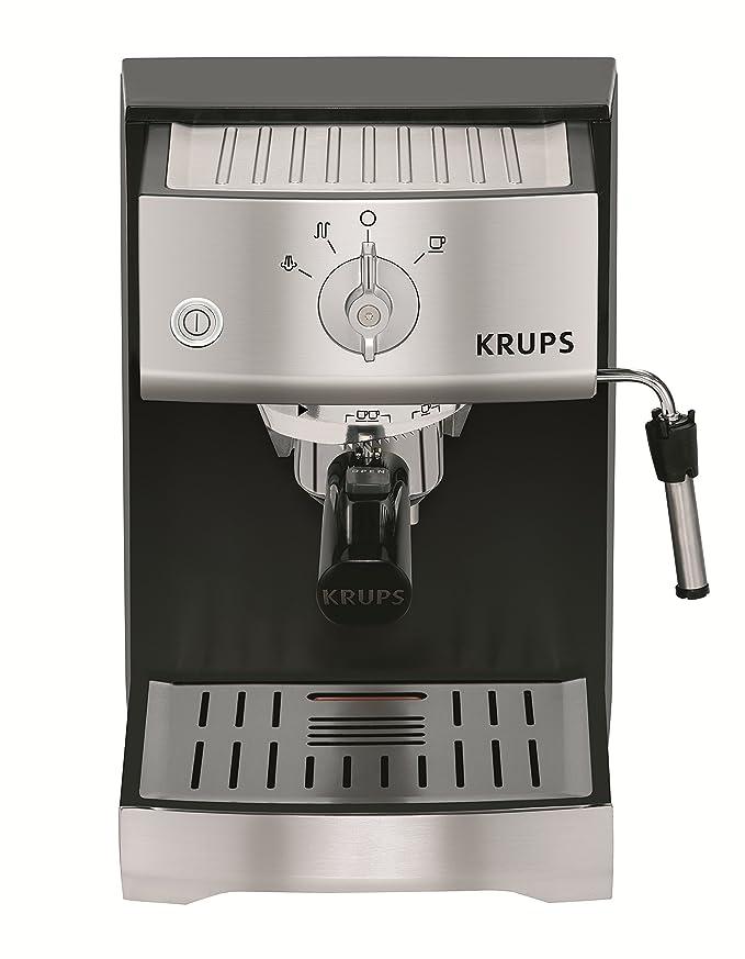 Krups XP5220 - Cafetera (Máquina espresso, 1,1 L, 1400 W ...
