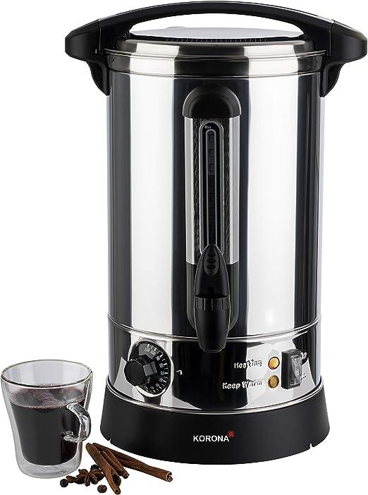 Korona 48001 - Cafetera automática (carcasa de acero inoxidable de ...