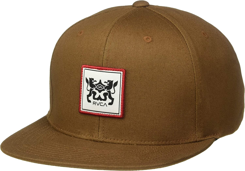 RVCA Mens Den Snapback Hat: Amazon.es: Ropa y accesorios