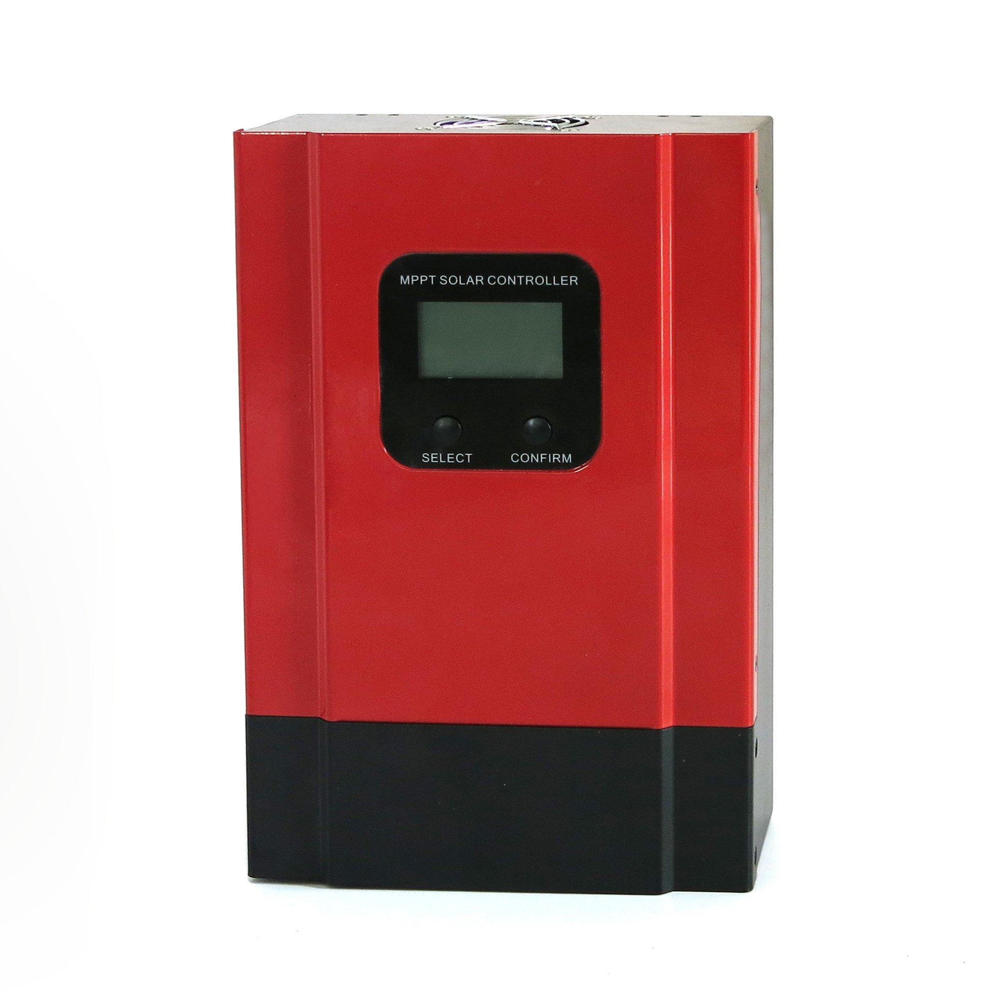 KRXNY 60A MPPT Charge Controller 48V/36V/24V/12V Battery Regulator for Off Grid Solar System Max 150V PV Input by KRXNY