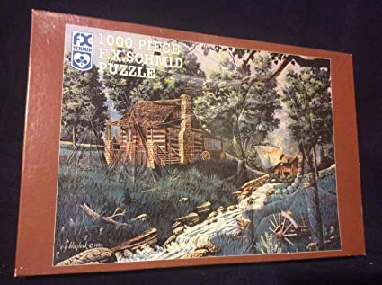 Silver Belle Run 1000 Piece Jigsaw Puzzle featuring the art of Ted Blaylock by FX Schmid