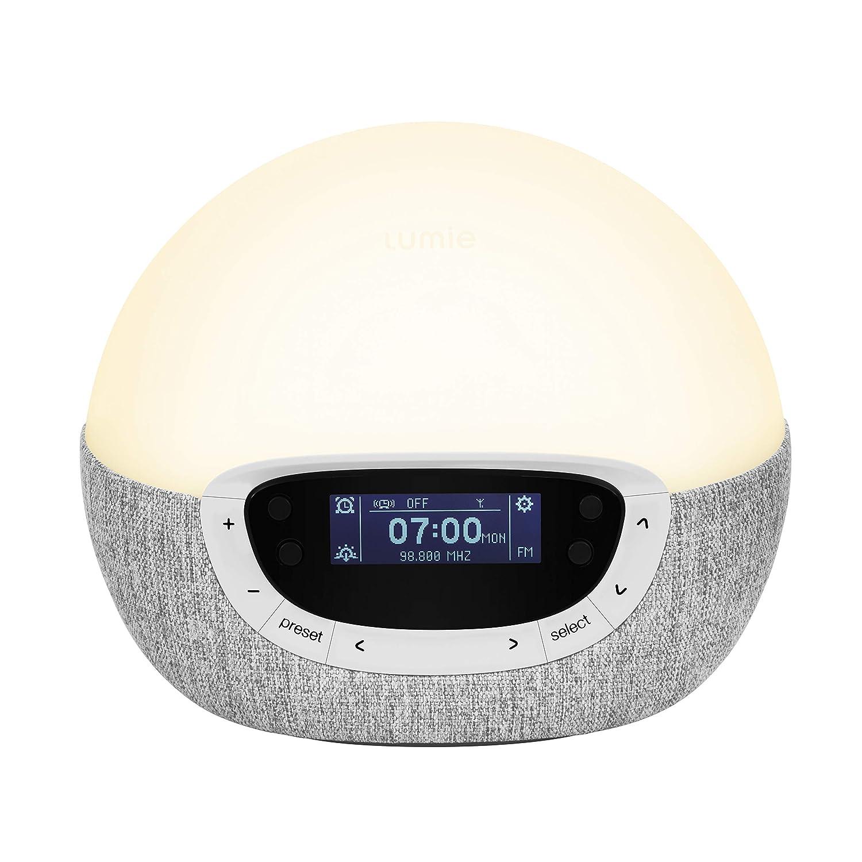 Lumie Bodyclock Shine 300 - Lichtwecker mit Radio, 14 14 14 Klängen und Einschlafsonnenuntergang 09594d
