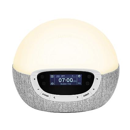 Lumie Bodyclock Shine 300 - Reloj Despertador con Luz para ...
