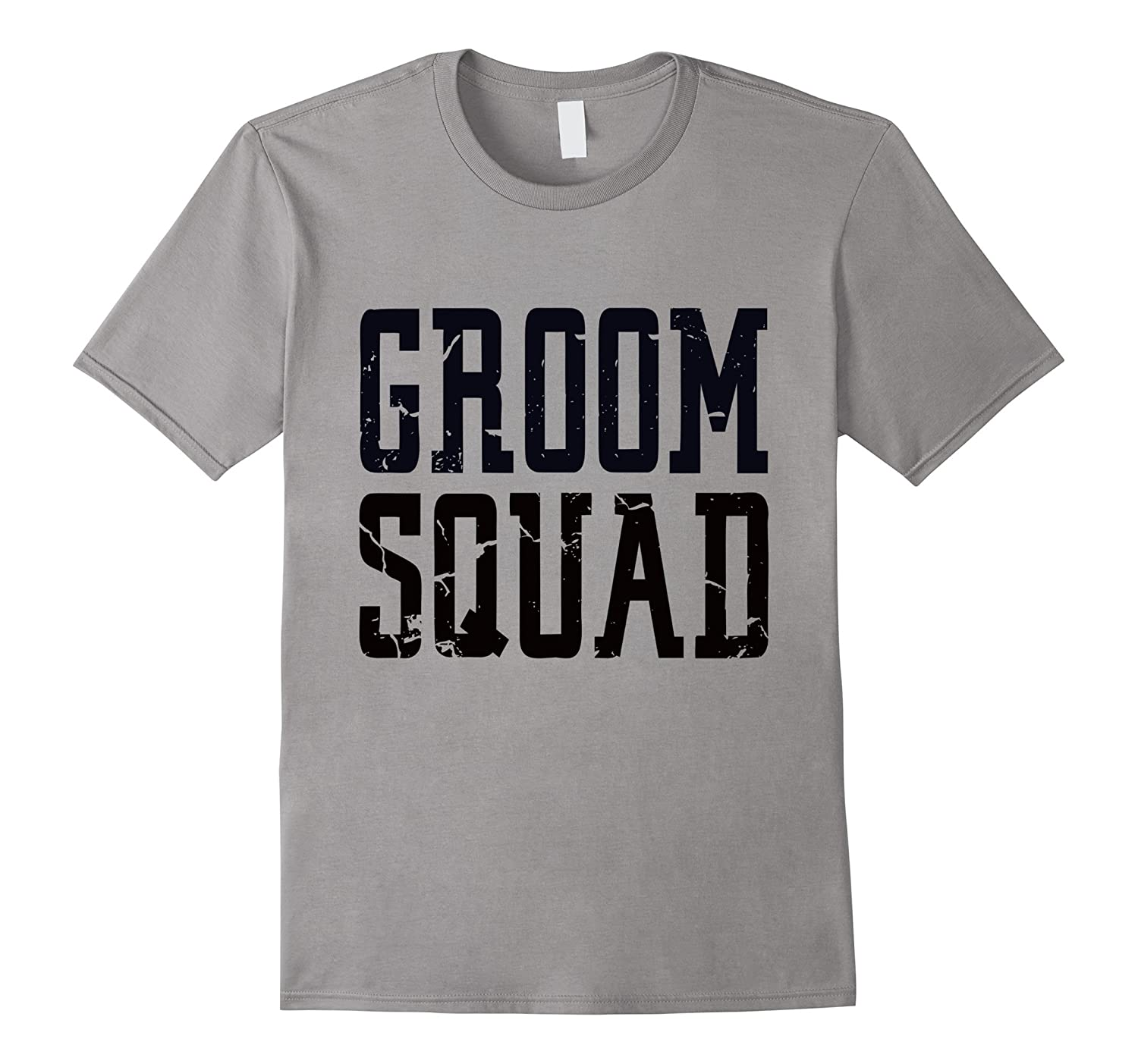 Groom Squad T-Shirt - Bridal Party Groomsmen Shirt-RT