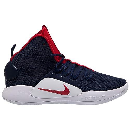 a4f313baea51 Nike Unisex Adults  Hyperdunk X Basketball Shoes  Amazon.co.uk ...