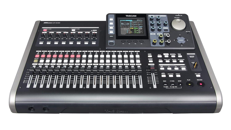 Tascam DP-24SD - Portastudio digital de 24 pistas: Amazon.es: Instrumentos musicales