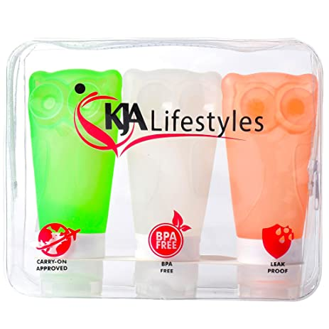Image result for KJA Squeezable-Refillable-Containers-Conditioner