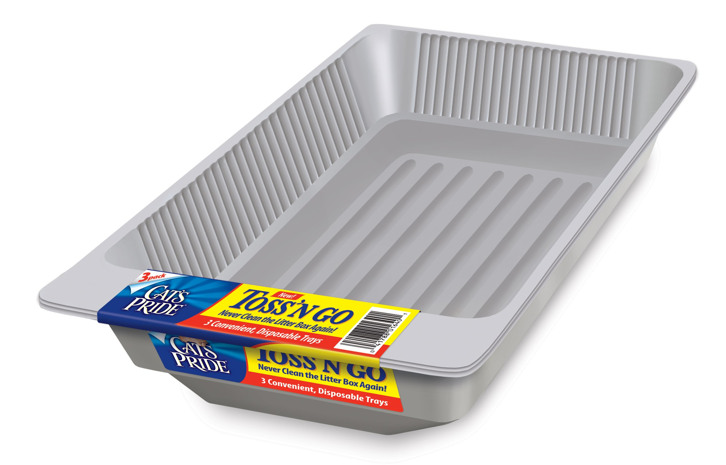 Cat's Pride 01640 Toss 'N Go Disposable Litter Tray by Cat's Pride