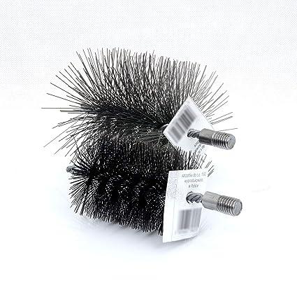 80 mm Calderas Cepillo Cepillo para caldera Horno Tubo Cepillo
