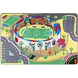 """Spielteppich Kinderteppich """"Mein Fussballstadion"""" von Teppino (100x150cm)"""