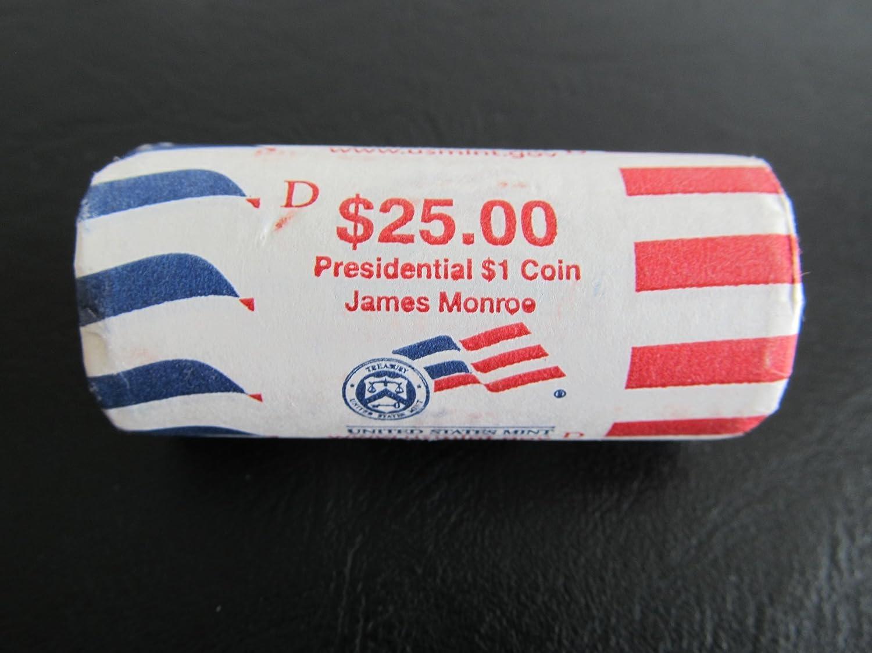 2008 D James Monroe Presidential Dollar Coin  **FREE SHIPPING**