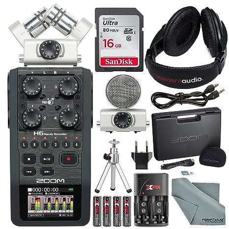 Amazon.com: Zoom H6, grabador portable con sistema de ...
