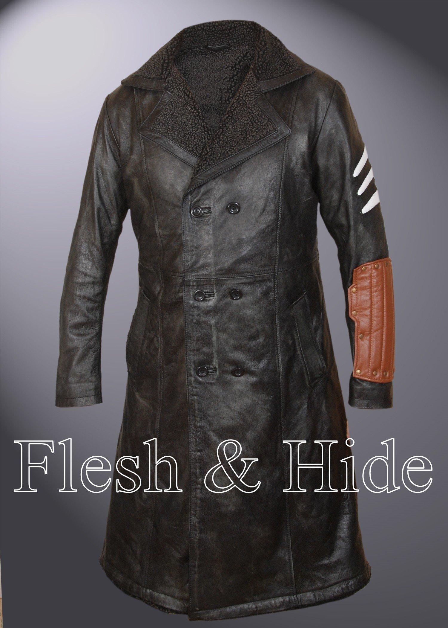 F&H Boy's Captain Boomerang Faux Fur Lined Jai Courtney Coat S Multi