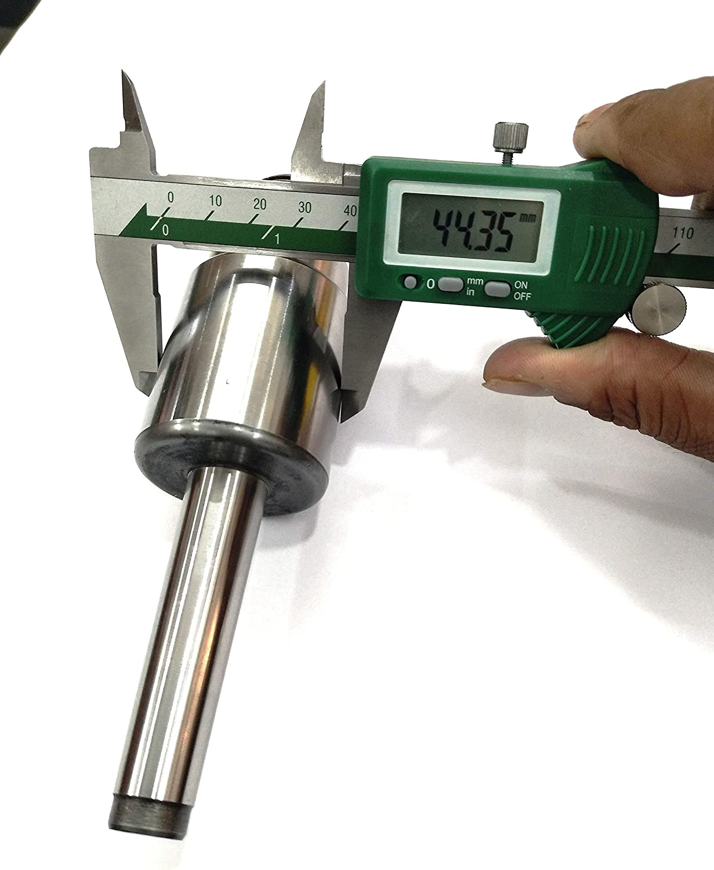 Triple Bearing MT2 Shank Revolving Lathe Tailstock Chuck Adaptor Myford Thread