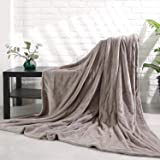 """MaxKare Electric Blanket Heated Throw 72"""" x 84"""" Oversized Flannel Heated Blanket, ETL Certification Fast Heating with 4 Heati"""