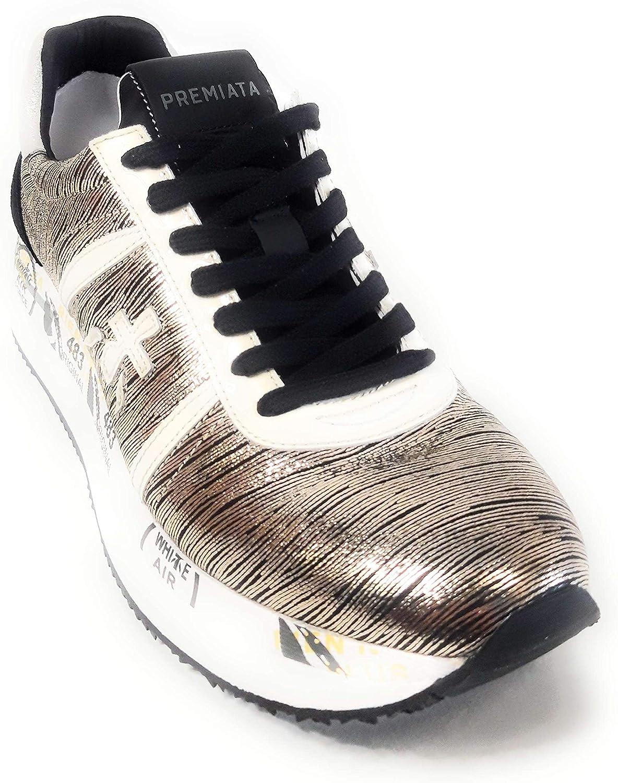 PREMIATA Sneaker Conny Black Gold