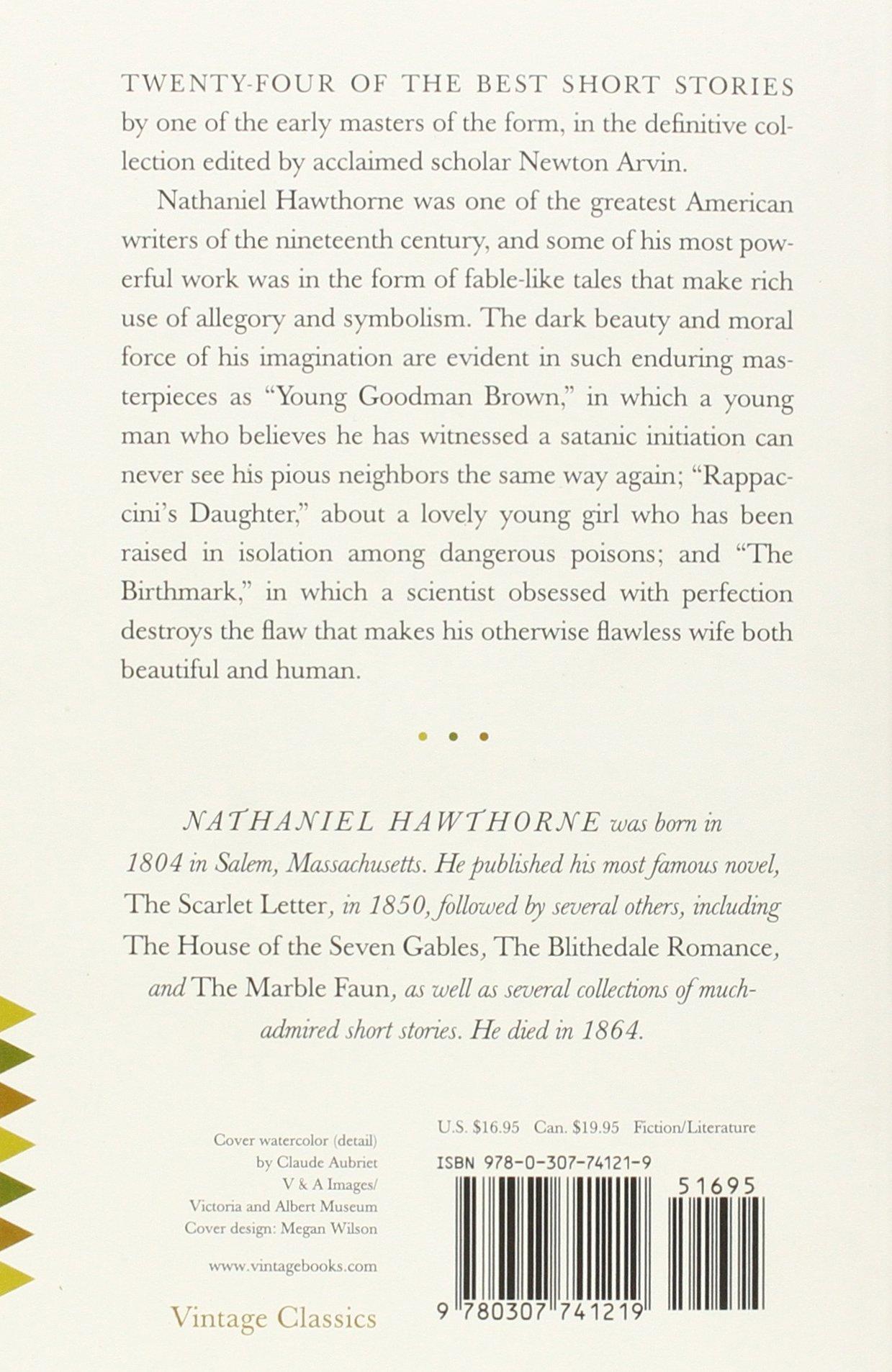 Hawthorne s Short Stories Nathaniel Hawthorne