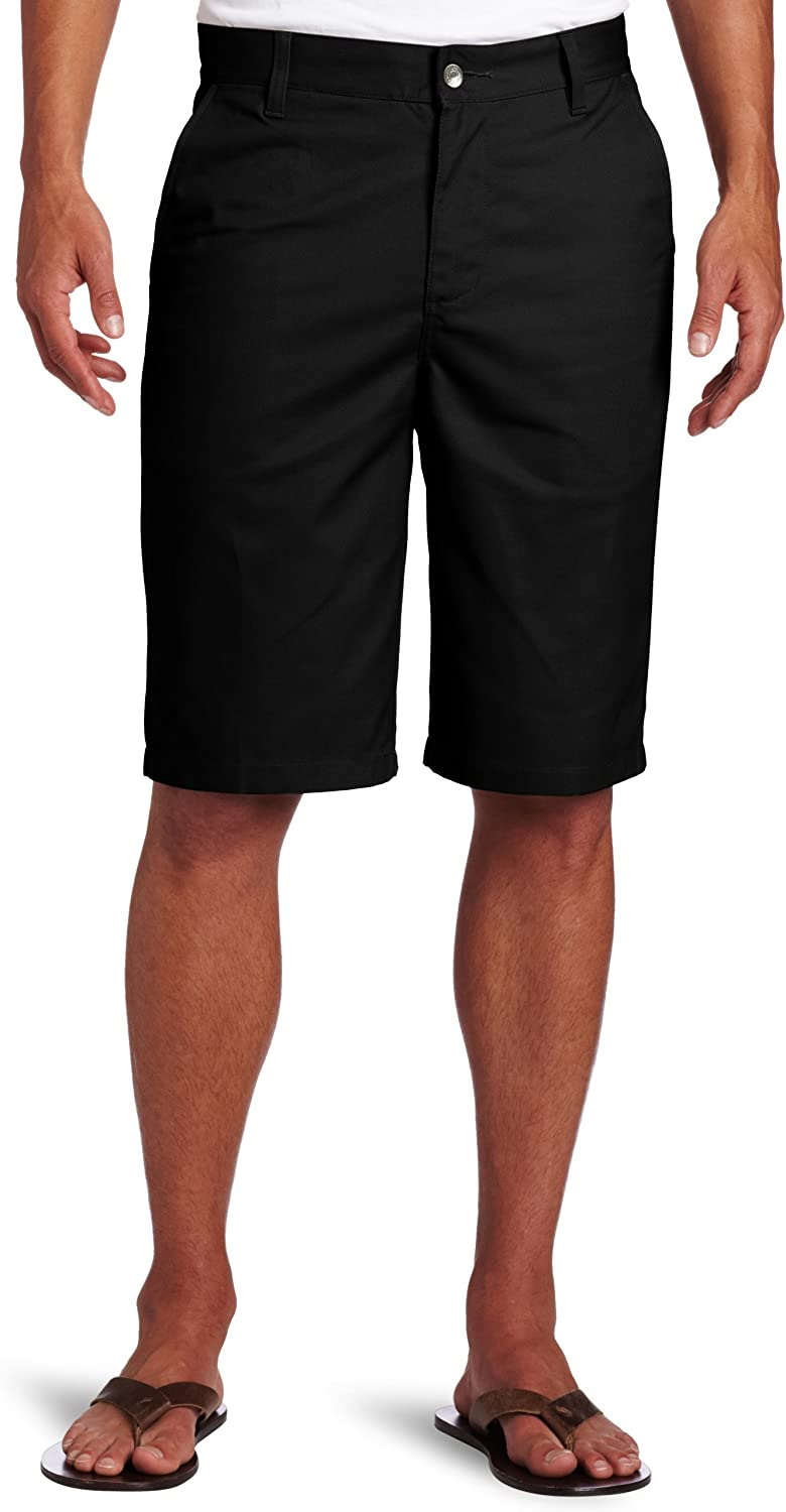 Lee Uniforms Mens Flat-Front Short