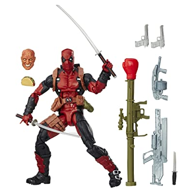Marvel 6 Inch Legends Series Deadpool: Toys & Games
