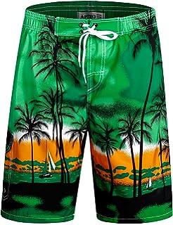abb1658857b APTRO Men's Swim Trunks Beach Quick Dry Shorts Holiday Board Shorts