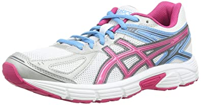d70c62f40c6 ASICS Patriot 7 Women s Training Running Shoes White (White Hot Pink Soft  Blue