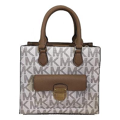 510d65ddf0a049 Amazon.com: Michael Kors Bridgette Paisley Messenger Bag (Small ...