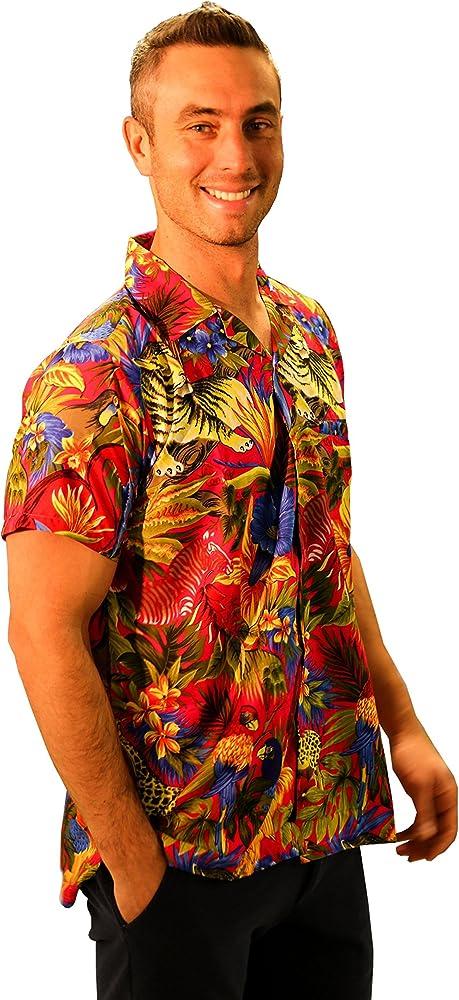 Red Star - Camisa Casual - Étnica - para Hombre Rosa XXX-Large: Amazon.es: Ropa y accesorios