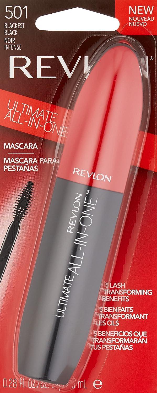 0c637e63203 Amazon.com : Revlon Ultimate All-In-One Mascara, Blackest Black : Beauty