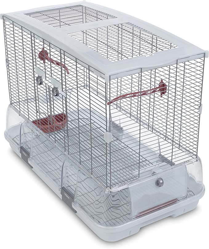 Vision Cage pour Oiseaux Jaula Modelo L01, 75 x 38 x 54,5 cm, (LxBxH): 74,9 x 38,1 x 54,6 cm