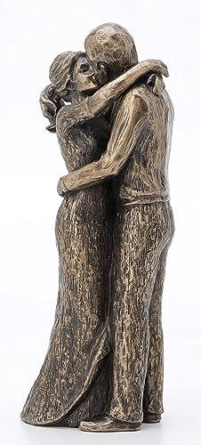 JFSM INC. Soulmates Lovers Kissing True Love Sculpture – Perfect Wedding Anniversary Present