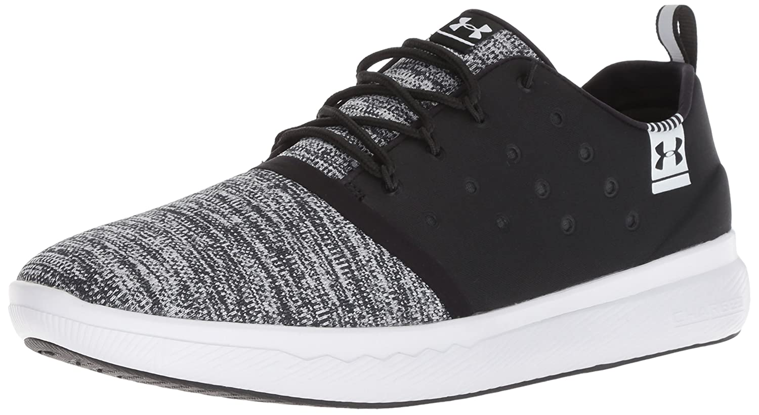 Under Armour Men's Charged 24/7 Sneaker B076VPTV8D 7 M US|Black (001)/White