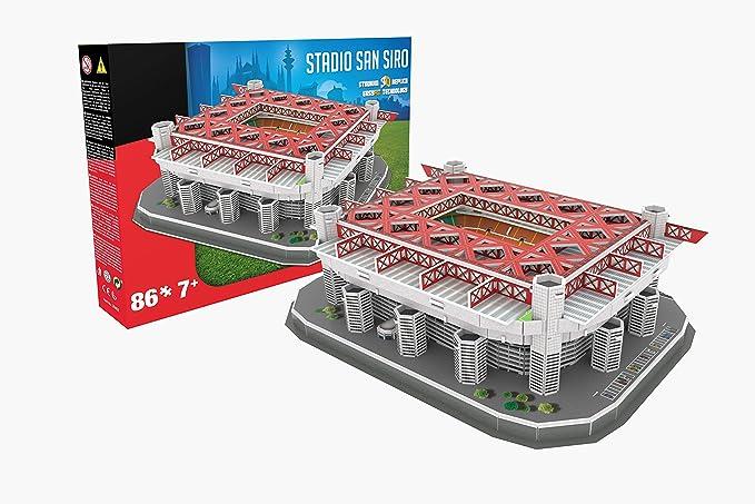 Giochi Preziosi 70011271 - Rompecabezas 3D Estadio de San Siro de ...