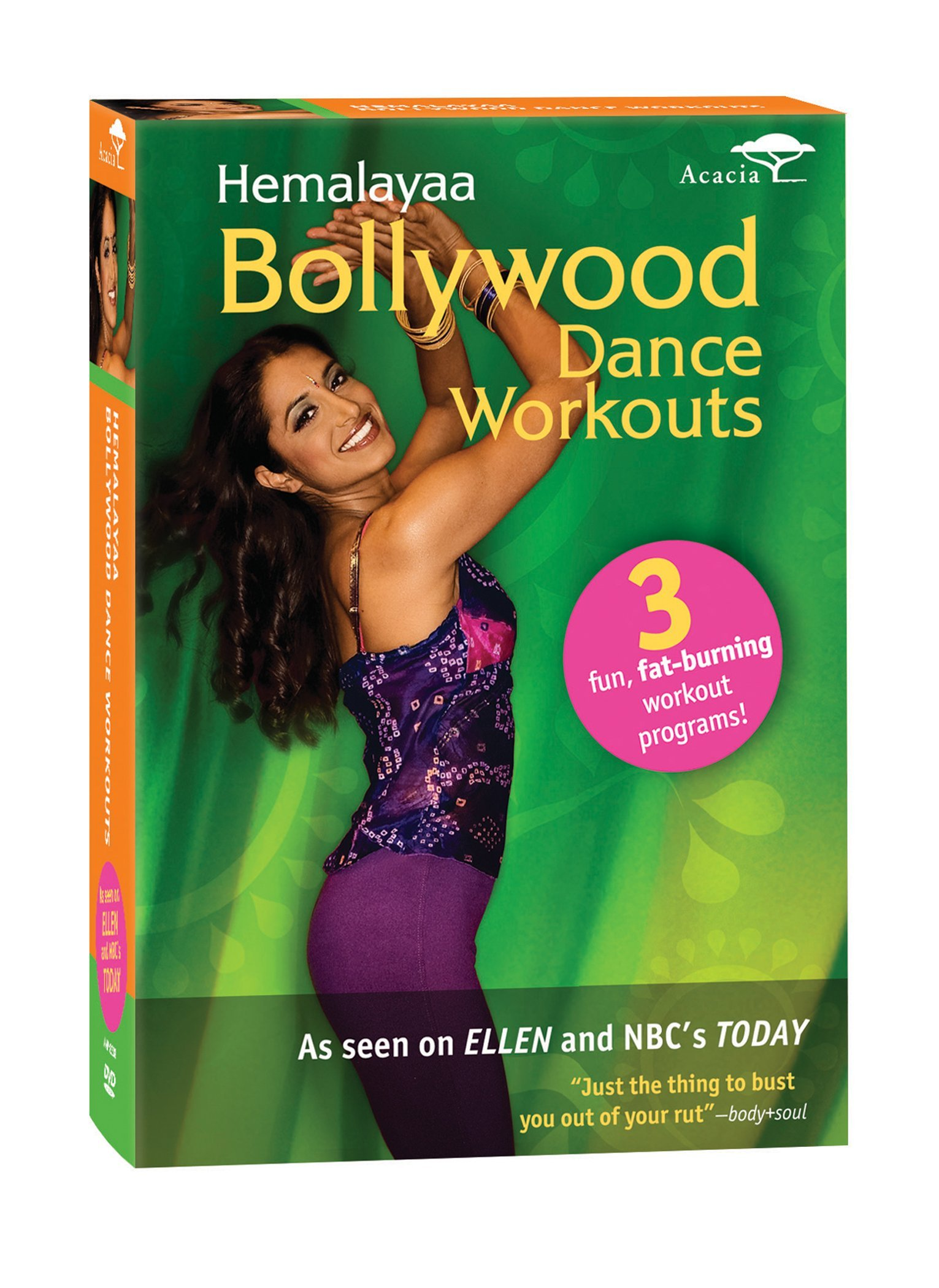 DVD : Bollywood Dance Workouts (3PC)