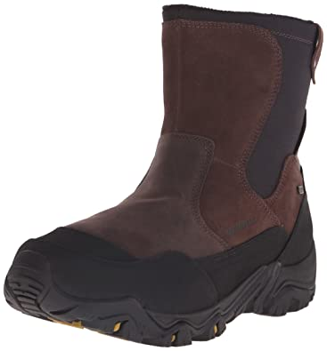 Fashionable Boots Booties Men Merrell Polarand Rove Zip Waterproof Castle Rock US Online