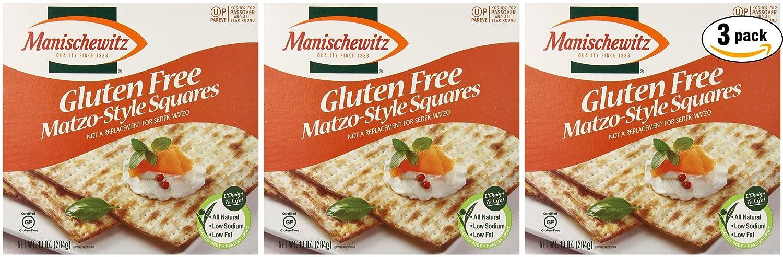 Manischewitz All Natural Gluten-Free Matzo Style Squares (6-Pack)