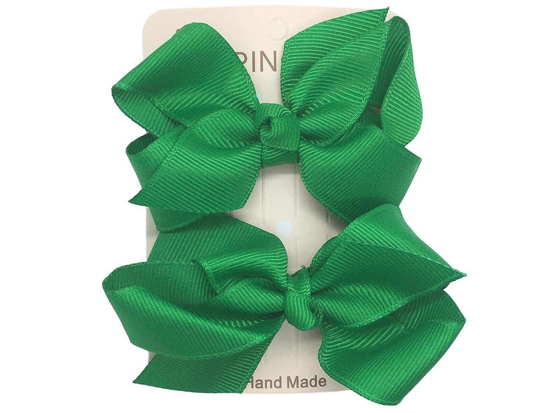 Quality Grosgrain Hair Bows - School Colours!