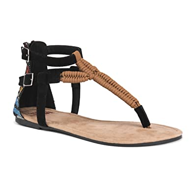 MUK LUKS Celeste Women's ... Gladiator Sandals 5EhHfC54y