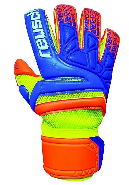 38cd9e91533 Reusch Soccer Prisma Prime S1 Evolution Finger Support Goalkeeper Gloves