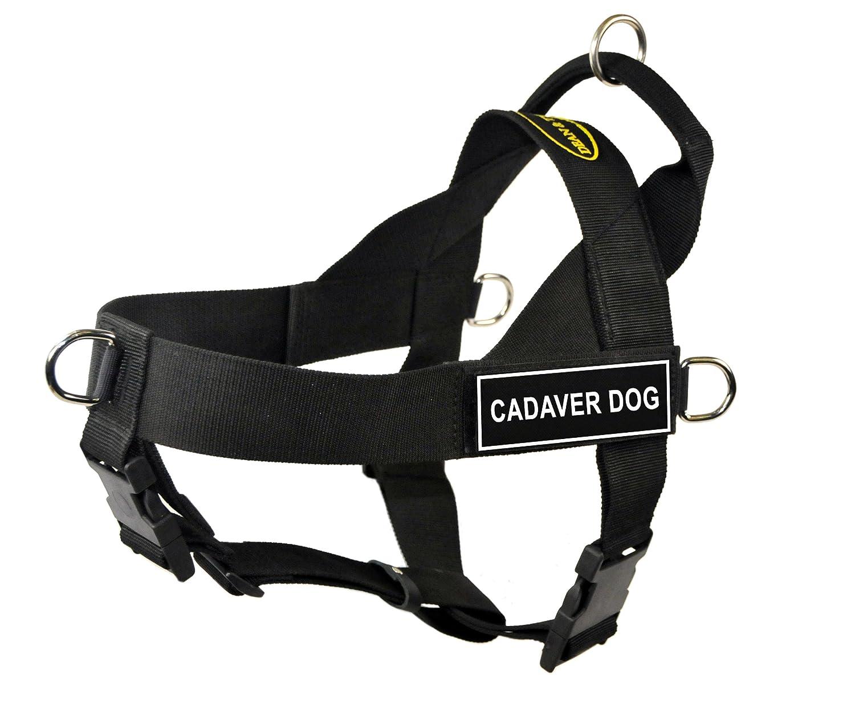 Dean & Tyler Universal No Pull 53,3 cm a 63,5 cm per Cane, x-Small, Cadaver Dog, Nero