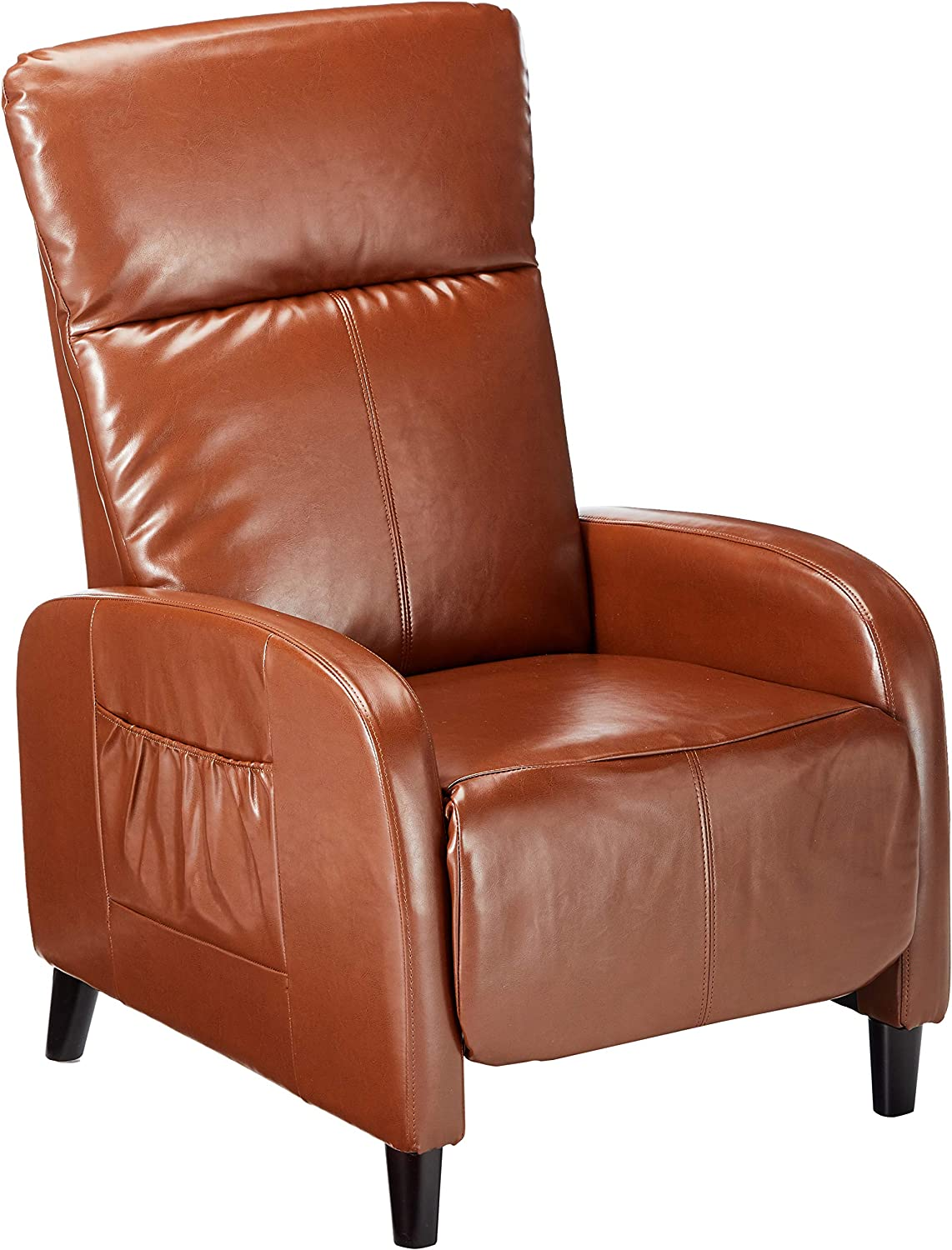Christopher Knight Home Trenton Hazelnut Brown Leather Recliner