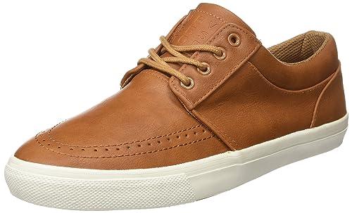 Springfield Sneaker P.U, Zapatillas para Hombre, Marrón (Dark Brown), 43 EU: Amazon.es: Zapatos y complementos