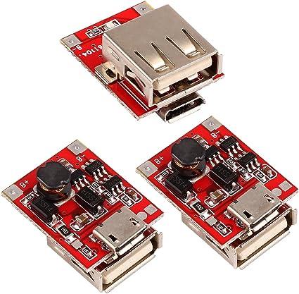 tmallshop 5 V 1 A banco de alimentación móvil DIY placa base ...