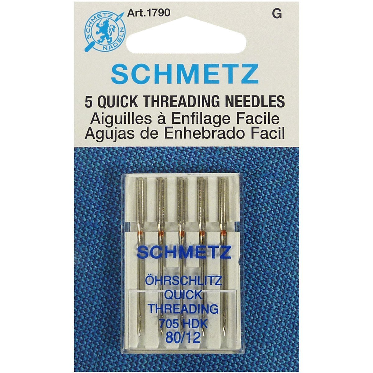 80//12 Quick Threading Sewing Needle Schmetz