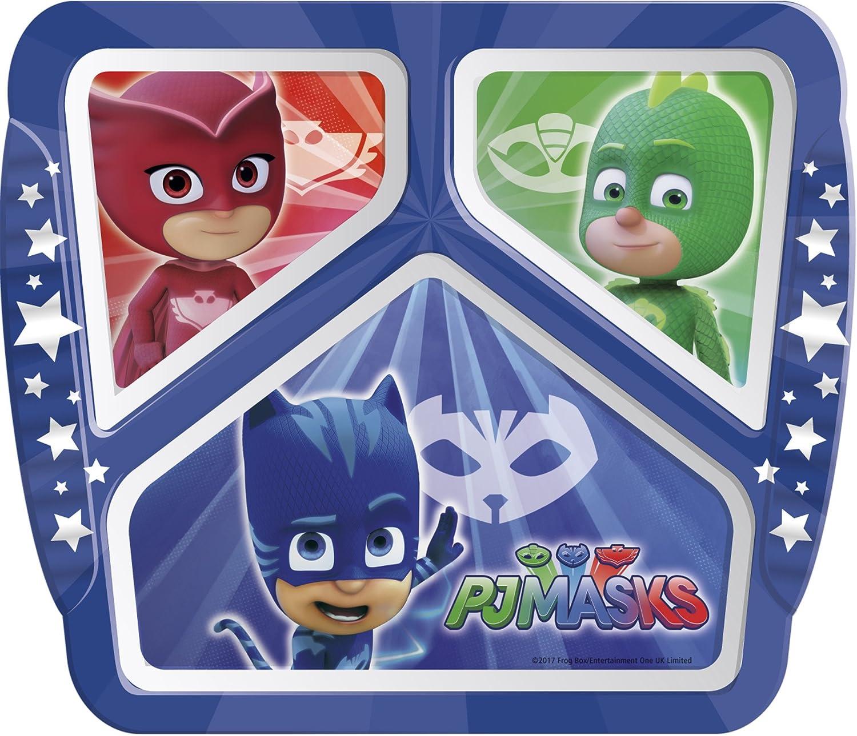 Zak Designs MOAF-0010 Moana Kids Divided Plates